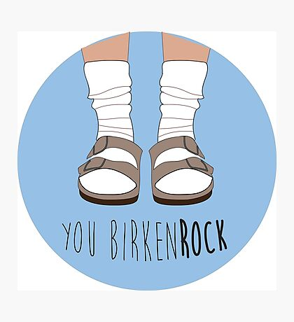 Birken-rock Photographic Print