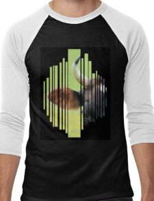 All Ears (Black Background) Men's Baseball ¾ T-Shirt