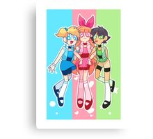 PowerPuff Girls Canvas Print