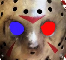 FRIDAY THE 13TH - in 3D!!! Sticker