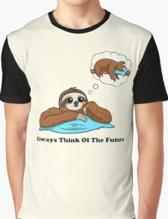 Always Think of The Future Graphic T-Shirt