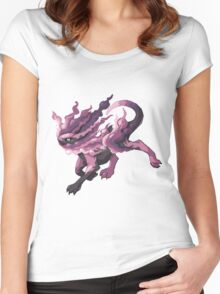 Helioquine Women's Fitted Scoop T-Shirt