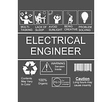 Electrical Engineer Photographic Print