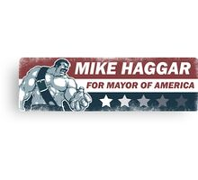 Mike Haggar Mayor of America Canvas Print