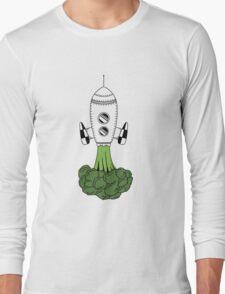 Smoked broccoli Long Sleeve T-Shirt
