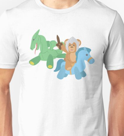 Teddy Bear Knight  Unisex T-Shirt
