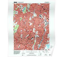 USGS TOPO Map New Jersey NJ Orange 254678 1995 24000 Poster