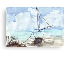 A boat, my boat Canvas Print