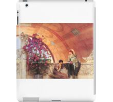 unconscious-rivals-by Lawrence Alma-Tadema iPad Case/Skin