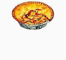 Chicken Pot Pie Pattern Unisex T-Shirt