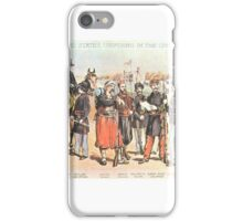 Various Union Army Uniforms iPhone Case/Skin
