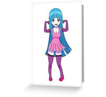 Meme-Chan - ME!ME!ME! Greeting Card