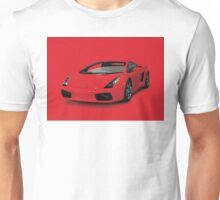 Red Lamborghini Unisex T-Shirt