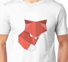 origami fox, vector image Unisex T-Shirt