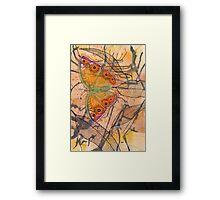 """Meadow Argus""  Framed Print"