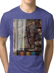 Portrait From Memory Tri-blend T-Shirt