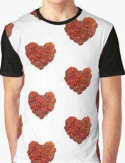 Valentine's Roses Graphic T-Shirt