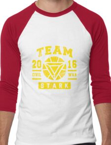 Team Stark Men's Baseball ¾ T-Shirt