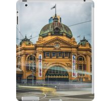 Rush Hour at Flinders Station iPad Case/Skin