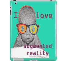 I Love Augmented Reality Baby iPad Case/Skin