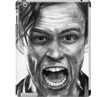 Matthew Gray Gubler Drawing iPad Case/Skin