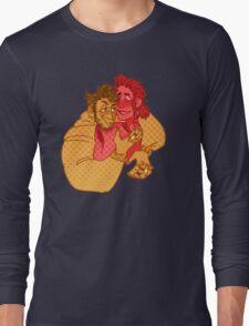 c a r e s s    h i m Long Sleeve T-Shirt