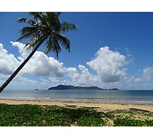 Mission Beach looking at Dunk Island - Queensland Photographic Print