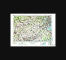 USGS TOPO Map New Jersey NJ Newark 255463 1944 250000 Unisex T-Shirt