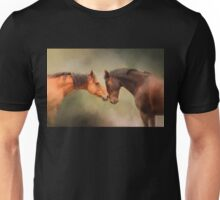 Best Friends - Two Horses Unisex T-Shirt