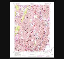 USGS TOPO Map New Jersey NJ Orange 254677 1955 24000 Unisex T-Shirt