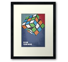 Clear Your Mind - Corporate Start-up Quotes Framed Print