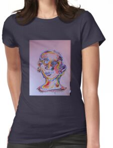mental  Womens Fitted T-Shirt