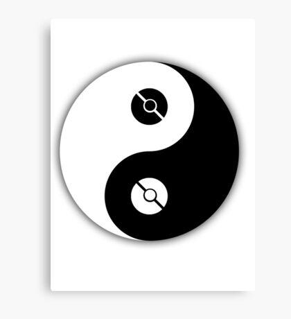 Pokemon Yin Yang Canvas Print