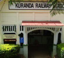 Kuranda Railway Station in Queensland Sticker
