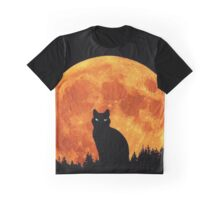Rembulan : 9 lives surrounds by lunar Graphic T-Shirt