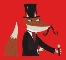 Sir Fox Kids Tee