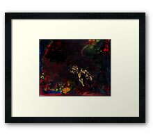 Abstract space surreal scifi  Framed Print
