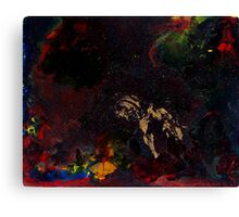 Abstract space surreal scifi  Canvas Print