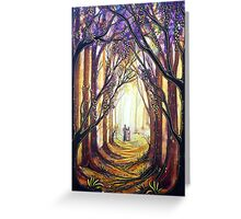 Summer Stroll - Trees Greeting Card
