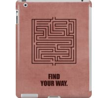 Find Your Way Corporate Start-up Quotes iPad Case/Skin