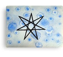 Elven Star Canvas Print