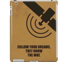 Follow Your Dreams, They Know The Way Corporate Start-up Quotes iPad Case/Skin