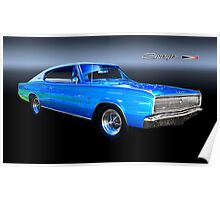 67 Dodge Charger Hardtop Poster