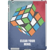Clear Your Mind Corporate Start-up Quotes iPad Case/Skin