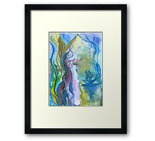 Magical seaweed Framed Print