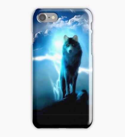 Rembulan : Lighting Wolf iPhone Case/Skin