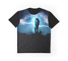 Rembulan : Lighting Wolf Graphic T-Shirt