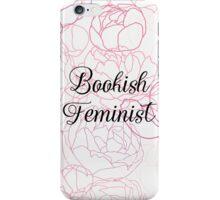 Bookish Feminist  iPhone Case/Skin