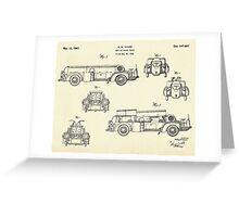 Service Motor Truck-1947 Greeting Card