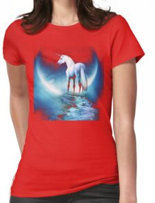 Rembulan : The Horse Womens Fitted T-Shirt